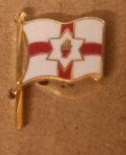 (021) ulster flag lapel badge northern ireland orange order loyalist Enamel
