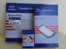 Genuine Hyundai i30 GD(MY12-16) Diesel DIY Kit -  Oil filter, Air, Aircon filter