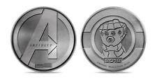 Moneta AVENGERS INFINITY WAR - MARVEL Promo Coin SILVER rara collezione unboxing