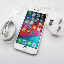 """Apple iPhone 6s 128GB Sim Free (Batt Health 100%) A1688 4.7"""" White Silver 12MP"""