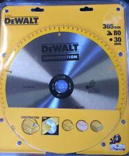 12inch , 80 teeth, 305mm Blade for dewalt drop saw dw708, dw780s, arbor 25.4mm