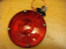 CHEVY TRUCK DODGE FORD RV TRAILER 12 VOLT 4-1/2 IONE WIRE RED SIGNAL LAMP