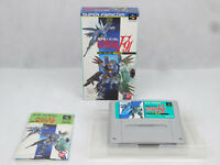 Super Famicom Nintendo Gundam F91 Boxed Complete Japan Import