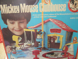 YOU CHOOSE 1976 Disney Hasbro Playskool Weeble Mickey Mouse Clubhouse Parts