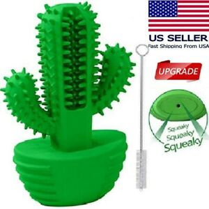 US stock-Large dog Toothbrush Chew Toy Dental Care bite stick natural Rubber FDA