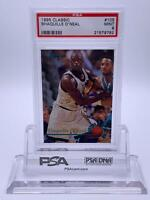 American Basketball Card💎Shaquille O'Neal PSA 9💎1995 Classic🌟#105🌟POP 3