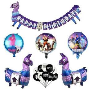 Loot Llama Fortnite Birthday Party Decor