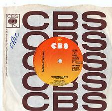 "Barbra Streisand - Woman In Love 7"" Single 1980"