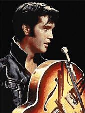 Elvis Presley Counted Cross Stitch Kit,Celebrity,Singer,Artist Free Recorded P&P