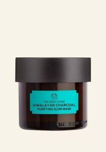 The Body Shop-Himalayan Charcoal-Purifying Glow Mask-Skin Mask-Vegan-8.2g