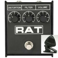 New ProCo Rat2 Distortion Pedal - Free Shipping and Gift - eNote Clip On Tuner!!