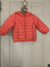 Girls Winter Coats Bundle - Gap (Pink, 2) and Autograph (Red, 2-3)