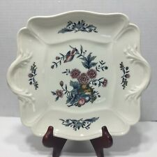 Wedgwood Williamsburg Potpourri Square Handled Serving Plate