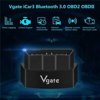 New Vgate ICAR3 Bluetooth3.0 OBD2 ELM327 Car Diagnostic Scan Tool Android US