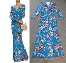 MW009783 - DESIGNER MULTICOLOUR JERSEY SILK MAXI DRESS (#714C)