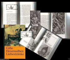 Kräuterbuch Hexensalben Zaubertränke Zauberpflanzen Hexenkraut Hexenkräuter Gift
