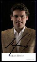 Michael Henke Autogrammkarte Bayern München 2006-07 Original Signiert+ C 1760