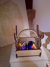 craft blanks Easter rabbit basket 2 egg holder mdf wooden blank.kinder cream