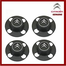 "Genuine Citroen Berlingo Set of 4 Wheel Trims / Centre Caps Fits 14"" Wheels"