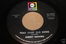 Sherry Grooms Forever Is A Long Time b/w That 45 From Publishing Co Vault M