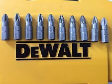 10 x Dewalt SCREW DRIVER BITS POZI PZ2 DRILL BITS fits makita bosch milwaukee S2