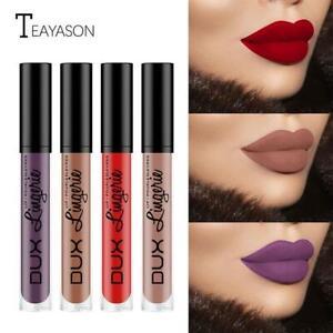 Matte Lip Gloss Lasting Non-stick Liquid Lipstick Nude Glaze