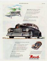 1948 ORIGINAL VINTAGE NASH CAR MAGAZINE AD