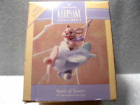 1991 Hallmark SPIRIT OF EASTER  Easter Spring - NEW - Bunny Rabbit - Airplane