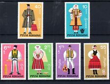 Rumania (4035) 1973 Regional Costumes set Lightly mounted mint Sg3986-91