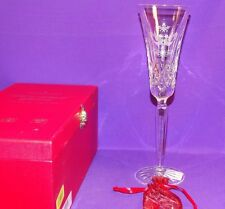 2015 WATERFORD CRYSTAL LISMORE TWO TURTLE DOVE CHAMPAGNE FLUTE 12 DAYS CHRISTMAS