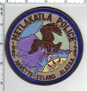 Metlakatla Annette Island Police (Alaska) 2nd Issue Shoulder Patch