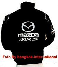 MAZDA MX-5 JACKET-BLOUSON- RACING TEAM ALL LOGO IN BRODERY