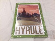 Póster enmarcado Zelda Hyrule 33 x 48 c
