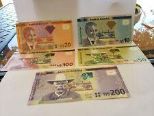 SET Namibia $10;20;50;100;200 UNC 2012- 2016 - Worth  $90
