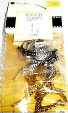 Blue Moon TOGGLE CLASPS BUTTERFLY Multi 6 pc BMF CLSP MTL MP TGL BFLY AS AG