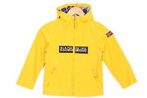 NAPAPIJRI RAINFOREST Open Full Zip Hooded Jacket Boys Youth Size 6 Years 116-120