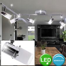 LED 24 Watt Deckenlampe Schlafzimmerleuchte 6-flammig Balkenstrahler beweglich