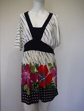 Millers Womens Dress Size 18 Stretch Comfy Cool Summer Floral NEW