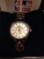 NEW Chicago Blackhawks ~Game Time NHL Ladies Silver with Gold Accents Watch
