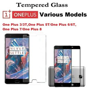 For OnePlus 3T 6 6T 7 8 Gorilla Tempered Glass Screen Protector Film Cover Guard
