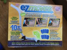 EZ Moves Furniture Moving System with Lifter Tool & 8 Slides. NEW in Box.