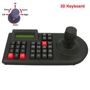 3D CCTV Keyboard Controller Joystick for RS485 PTZ Speed dome camera Bracket
