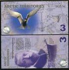 Arctic Territories, $3, 2011, Polymer, UNC Tern, Type 2