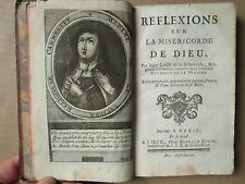 DUCHESSE DE LA VALLIERE : REFLEXIONS SUR LA MISERICORDE DE DIEU, 1700.