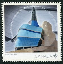"Weeda Canada 2771i Vf Nh Die cut 2014 Human Rights ""P"", from Annual Collection"