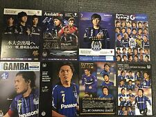 YASUHITO ENDO Gamba Osaka Samurai Blue Japan program x8! J.League ACL + bonus!