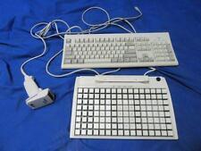 IBM Keyboard KB-8923 W/ PREH MC128WX Symbol Spark Scanner