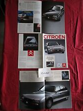 C.4135  /  CITROEN CX : catalogue nederland text 08/88