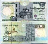 EGYPT 20 POUNDS 2018 P 65 NEW DATE UNC