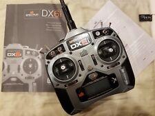 Spektrum DX6i 6 Channel 2.4GHz Full Range Transmitter few hours use-No reserve
